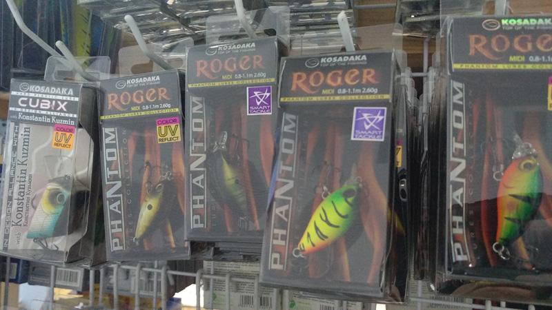 воблеры косадака roger
