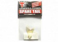 Хвост к воблеру Jackall Tiny Magallon (spare tail) brown