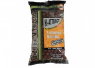 Бойлы тонущие Dynamite Baits Hi-attract Spicy Shrimp & Prawn