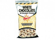 Бойлы тонущие Dynamite Baits White Chocolate & Coconut Cream