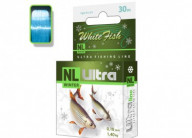 Леска зимняя AQUA NL Ultra White Fish