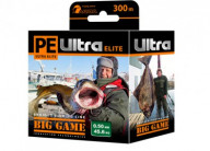 Плетеный шнур AQUA PE Ultra Elite Big Game