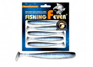 Виброхвост Aqua FishingFever Slim 10cm 044