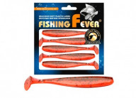Виброхвост Aqua FishingFever Slim 10cm WH10