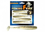 Виброхвост Aqua FishingFever Slim 10cm WH11