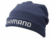 Шапка Shimano Breath Hyper+Fleece Knit Indigo Watch cap Regular Size