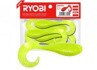 Риппер-твистер Ryobi Fantail 8шт 5.1см 1.2г CN002 (moon light)
