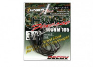 Крючок Decoy Cover Finesse Worm 105