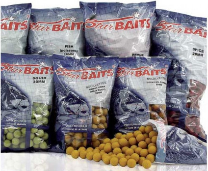 Бойлы тонущие Starbaits VANILLA 20мм 10кг