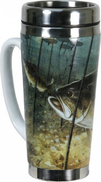 Термокружка Riversedge Stainless Bass Mug
