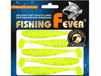 Виброхвост Aqua FishingFever Slim 10cm 203