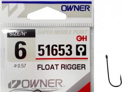 Крючок Owner Float Rigger 51653