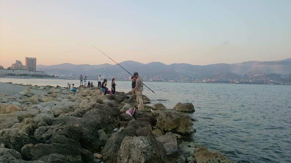 Рыбалка в новороссийске с пирсами